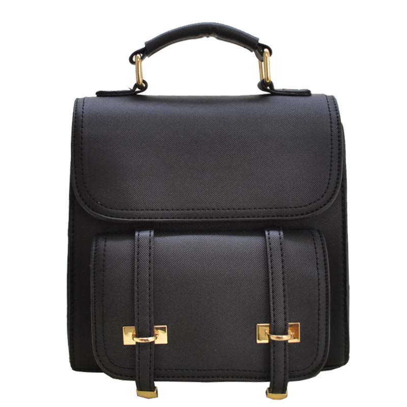 Trendy Fashion Back Pack Black