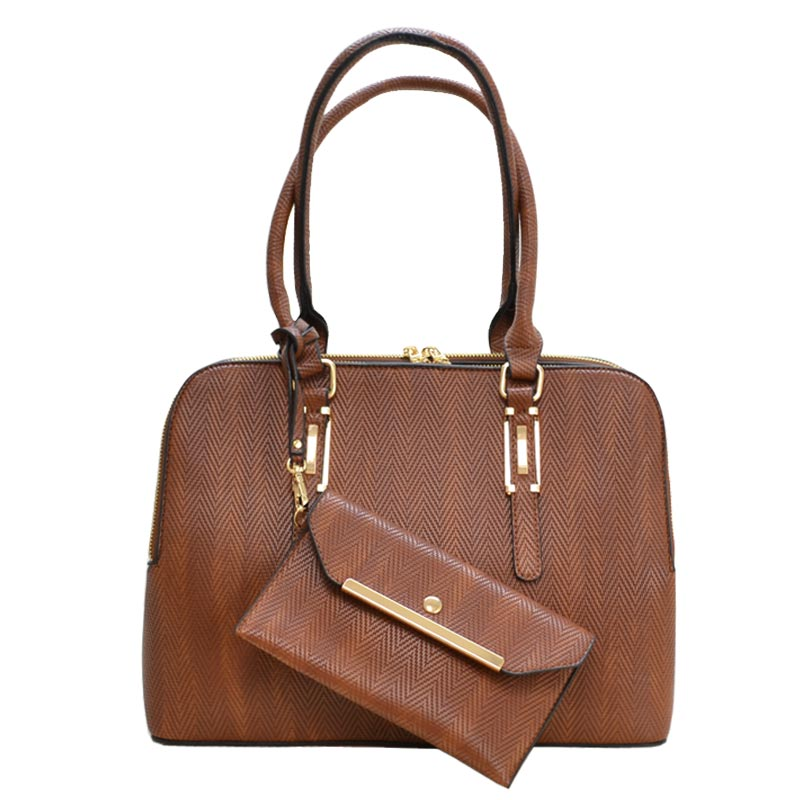 2 in 1 Trendy fashion Bag Brown