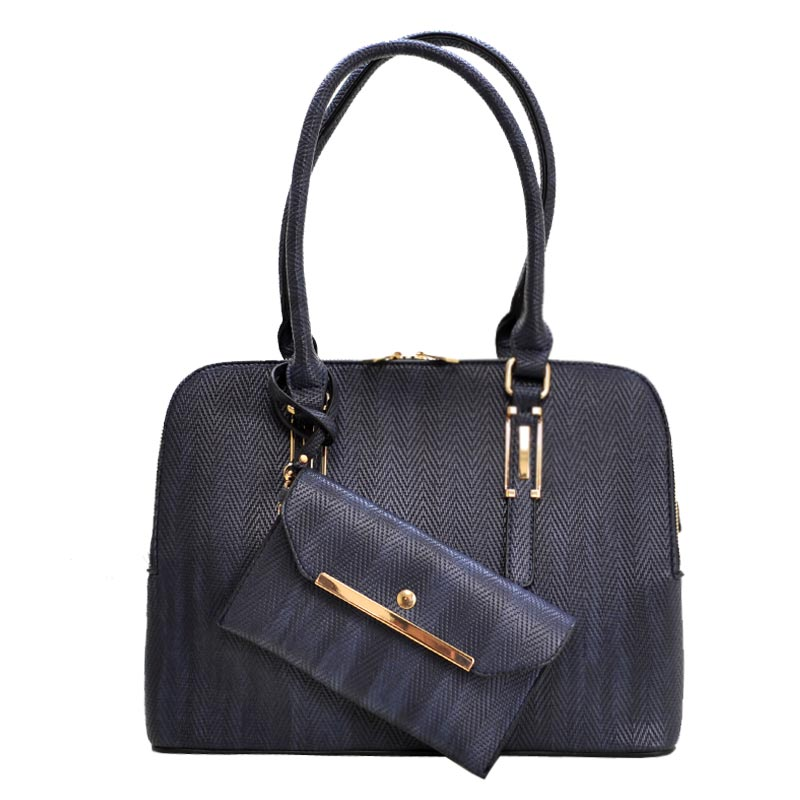 2 in 1 Trendy fashion Bag Navy