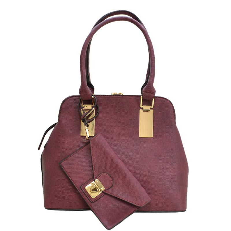 Trendy 2 in 1 fashion Bag Wine
