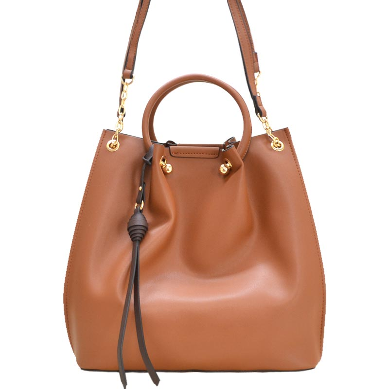 Fashion Convertible 2-in-1 Satchel Brown