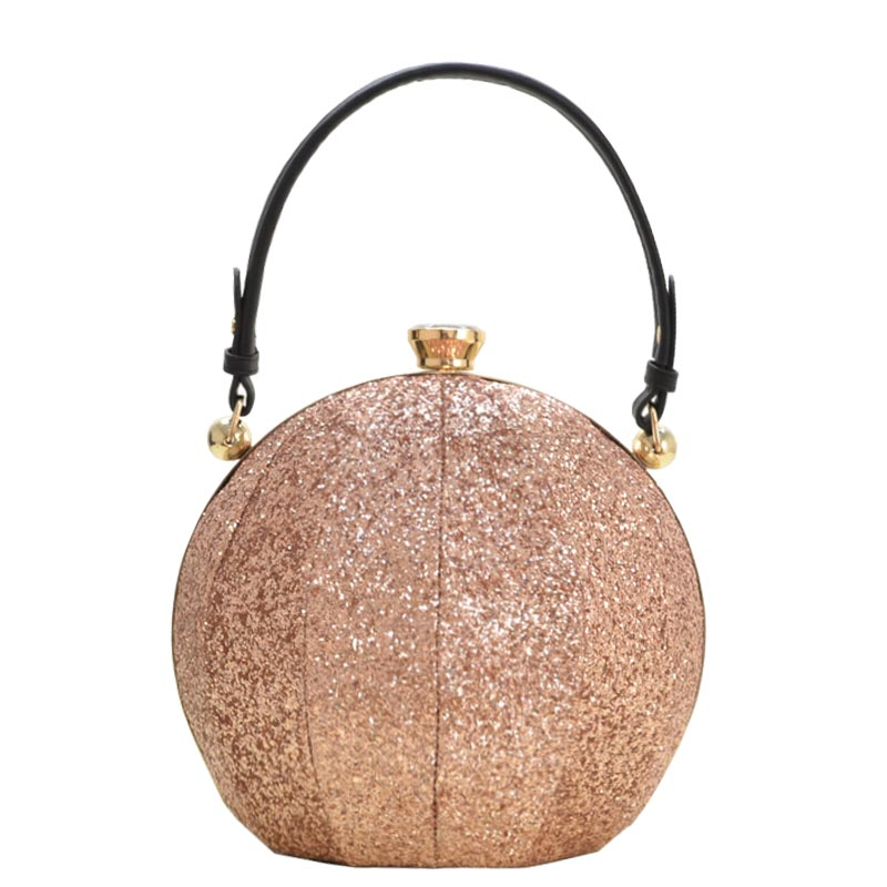 Ball Fashion Satchel Rose Gold