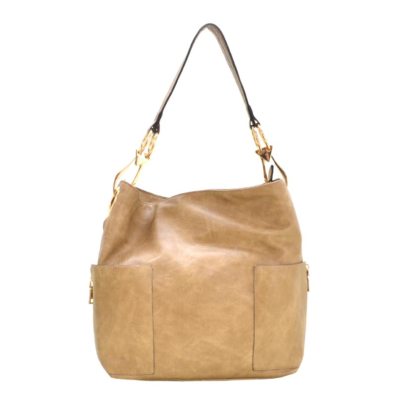 Fashion Classic Bucket Bag Stone