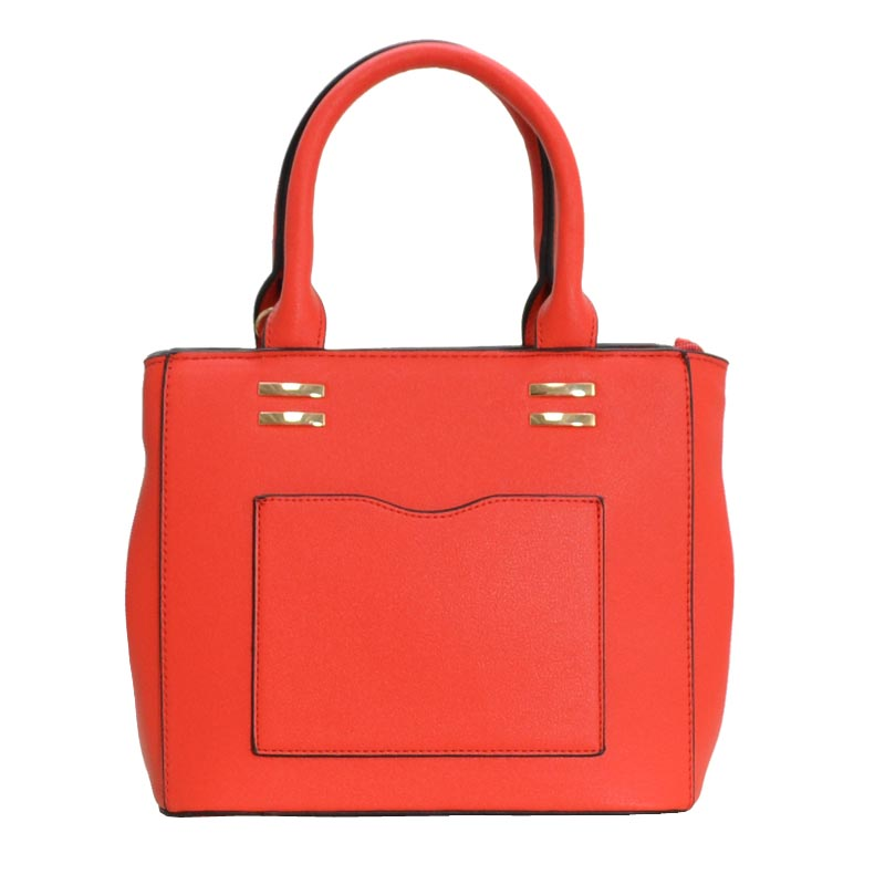 Comfortable handbag Red