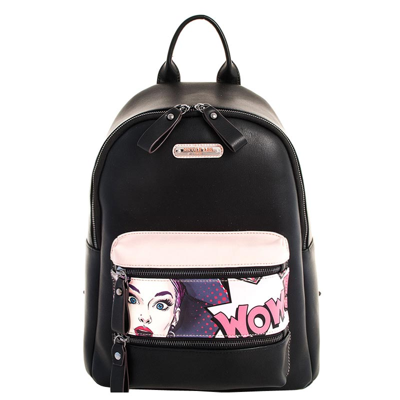 NICOLE LEE PRiINT CHICK BACKPACK Wow It's Lucy