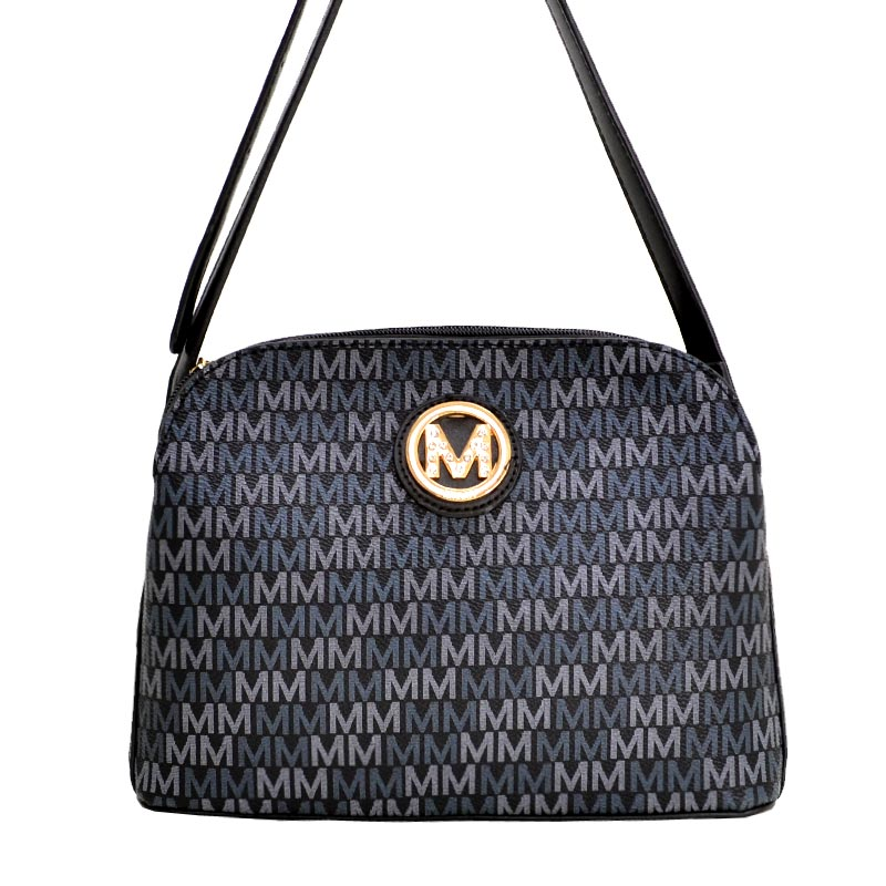 Milan Mia K. Farrow Triple-Compartment Fashion Black