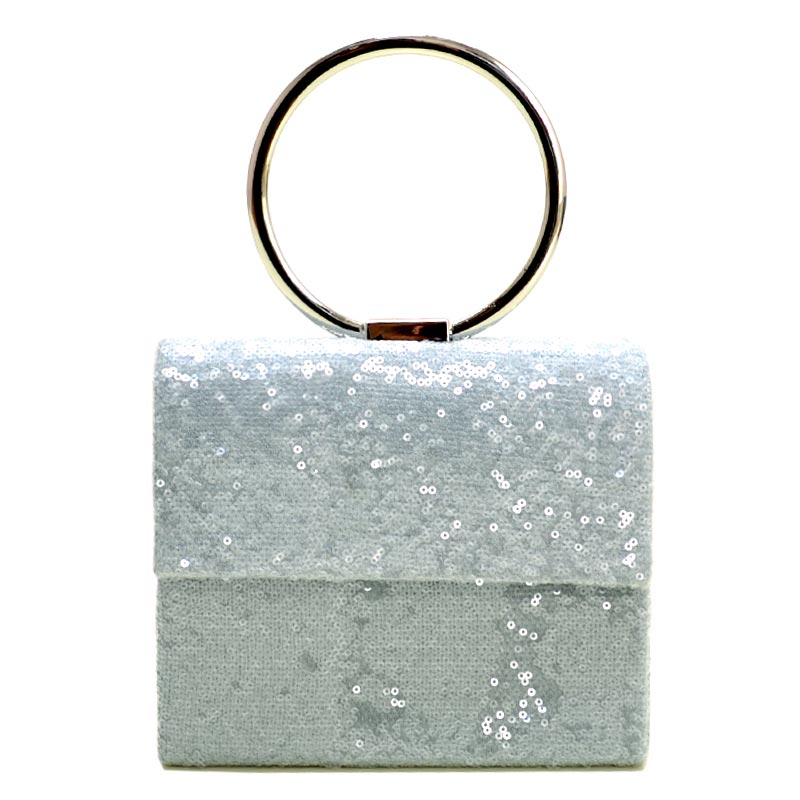 Fashion Clutch Silver