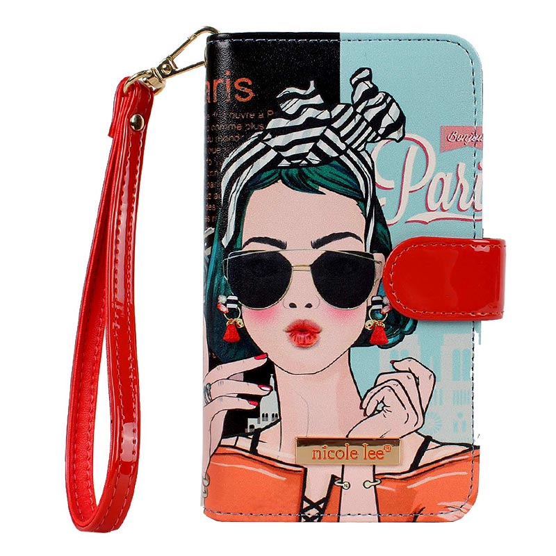 NICOLE LEE Phone Case XOXO From Paris