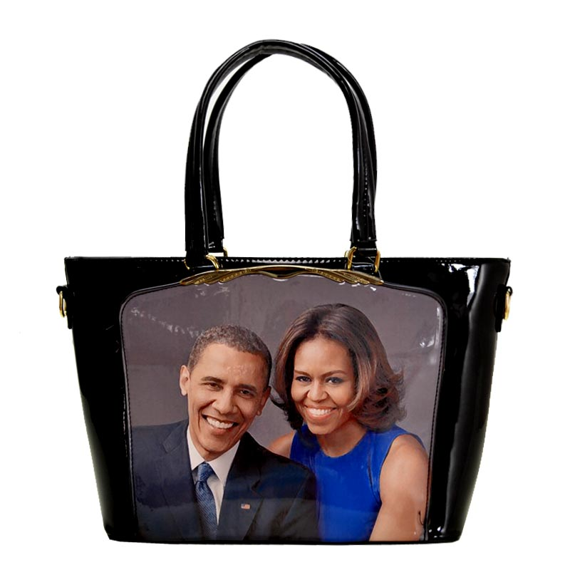 Obama Magazine Print Tote Bag 1