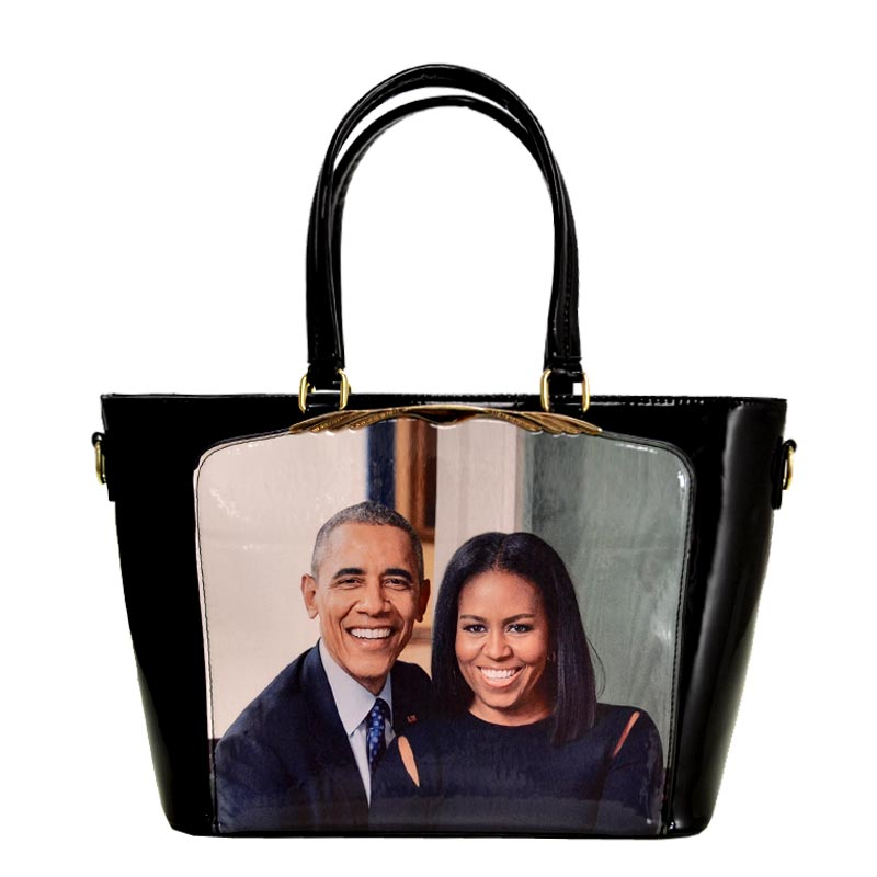 Obama Magazine Print Tote Bag 2