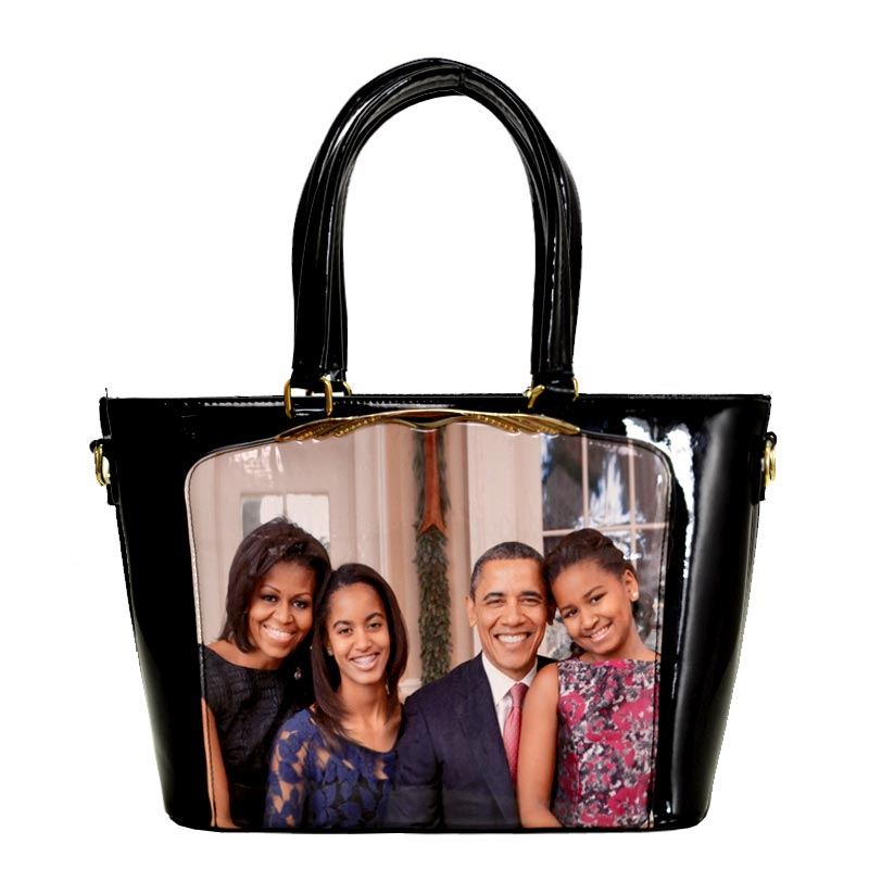 Obama Magazine Print Tote Bag 3