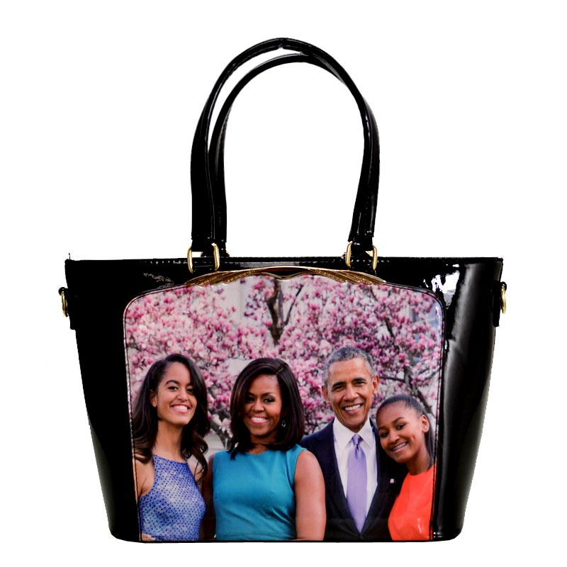 Obama Magazine Print Tote Bag 4