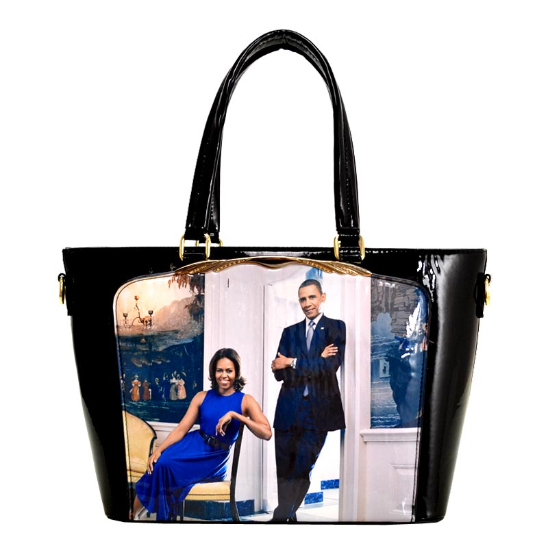 Obama Magazine Print Tote Bag 5