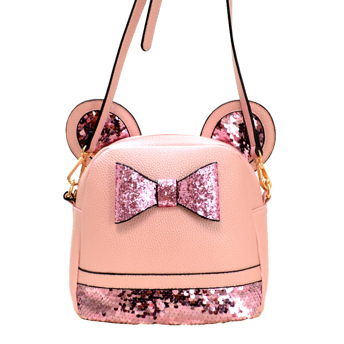 Mouse Style Messenger Cross Bag E Pink