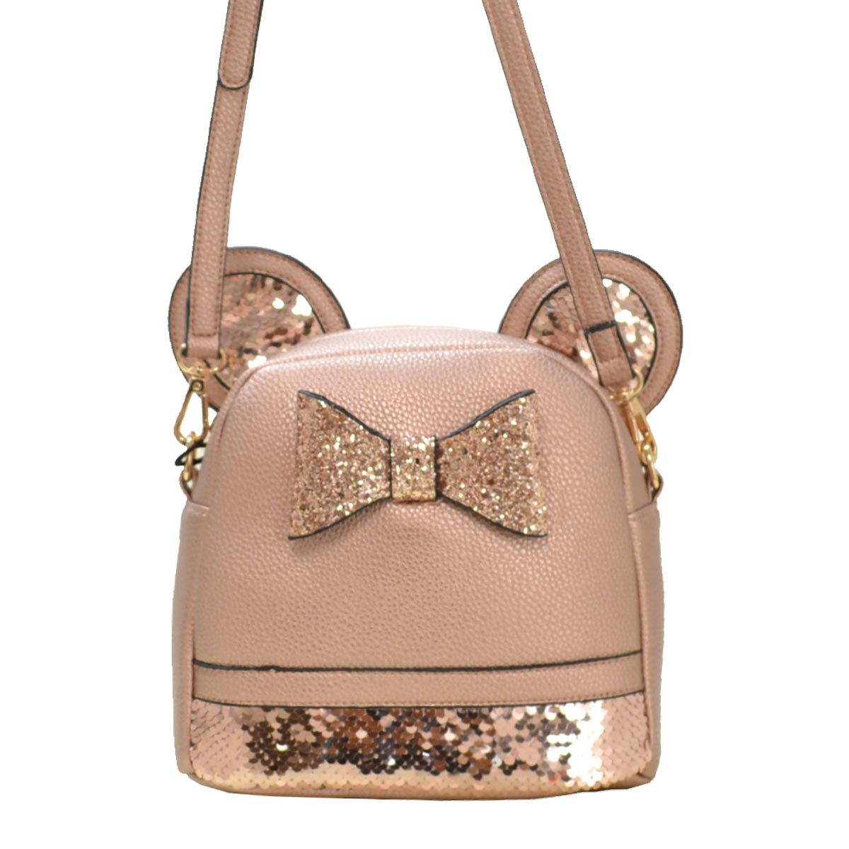 Mouse Style Messenger Cross Bag E Rose Gold
