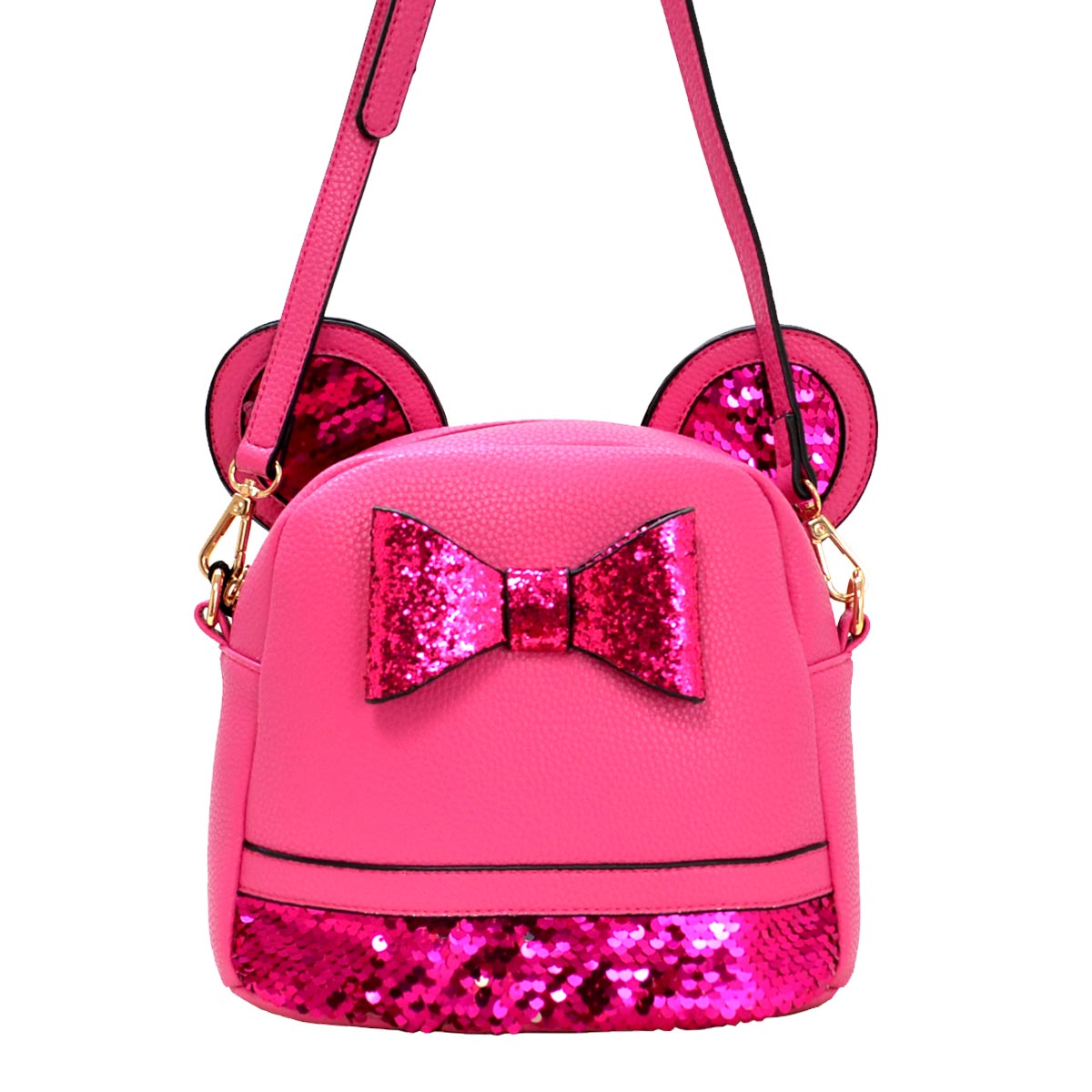 Mouse Style Messenger Cross Bag H Pink