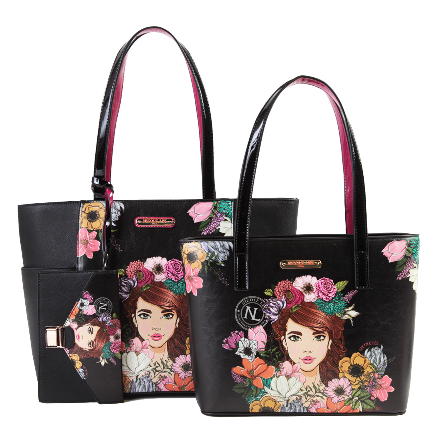 NICOLE LEE 3 in 1 Shopper Bag HTM